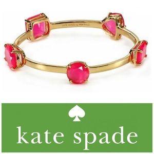 "♠️Kate Spade ""Vegas Jewels"" Cuff Bangle Bracelet"